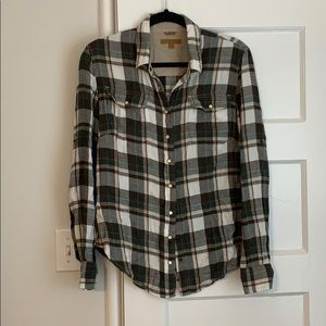 Snap Front Flannel